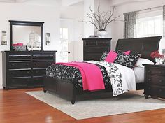 Farnsworth queen bedroom set w sleigh bed rothman furniture