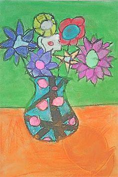 Chalk & Oil Pastel Still-Life