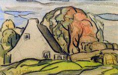 Maison, Ste-Rose (c. 1950) - Marc-Aurèle Fortin