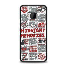 Midnight Memories One Direction Collage HTC One M9 Case   yukitacase.com