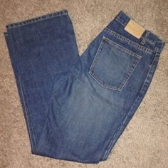 J. Crew boot cut jeans J. Crew boot cut jeans, size 8, mid rise. No wear at bottoms or inner thigh. Barely worn. J. Crew Jeans Boot Cut