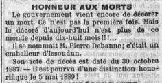 Châteauneuf et Jumilhac: Pierre DEBANNE en première page de La Croix
