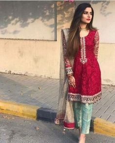 indian fashion Casual -- Click VISIT link above for more info Pakistani Wedding Outfits, Pakistani Dresses, Indian Dresses, Indian Outfits, Shadi Dresses, Party Wear Dresses, Casual Dresses, Fashion Dresses, Reception Dresses