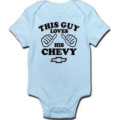 chevy onesie