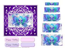 Butterfly Quick Card