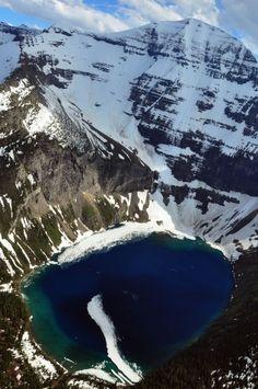 Kennedy Lake, Glacier National Park