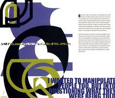 Neville Brody Typography Catalog