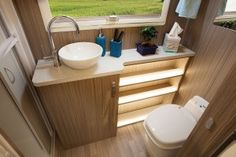 Image result for sunliner motorhome bathroom