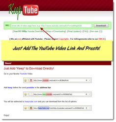 Keep-tube - YouTube downloader   http://keep-tube.com/