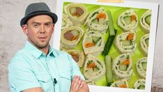 Sushi, Kiwi, Pesto, Cucumber, Toast, Vegetables, Ethnic Recipes, Pizza, Celebrity