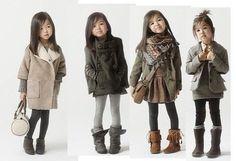 Cute little girls outfits - Zara Kids Fashion Kids, Little Girl Fashion, Look Fashion, Winter Fashion, Toddler Fashion, Fashion Clothes, Babies Fashion, Sweet Fashion, Fashion Group