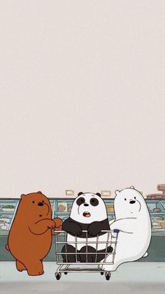 Cute Panda Wallpaper, Cartoon Wallpaper Iphone, Disney Phone Wallpaper, Bear Wallpaper, Kawaii Wallpaper, Cute Wallpaper Backgrounds, Aztec Wallpaper, Iphone Backgrounds, Pink Wallpaper