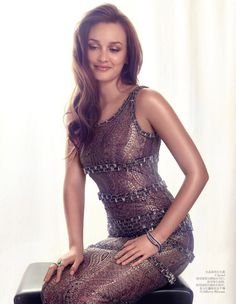 dress! Leighton Meester is Elegant in Shanghai for Vogue China August 2012 by Stockton Johnson