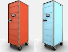 Airline Rolling Carts by Flight Studio Design