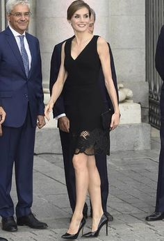 King Felipe and Queen Letizia attend opening of Royal Theatre's new season
