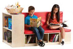Guidecraft » Classroom Furniture » Storage Units » Modular Library Storage/Seating