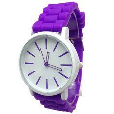 8505928f081 Simple Sports Watch with Silicone Band