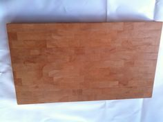 Stor ändträ skärbräda i oljad bok Big butchers block in oiled oak