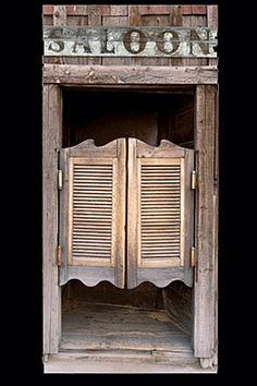 saloon shutters - Google Search