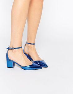 Imagen 1 de Zapatos de tacón con diseño en punta SPACE de ASOS