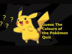 Can You Tell Us The Main Color Of These Pokémon?