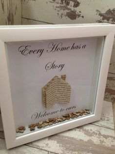 Wall art ~ Every home tells a story, welcome to ours ~ shadow box frame ~ home decoration ~ love hearts ~ upcycled book pages by FunkyDesignsbyDi on Etsy Scrabble Kunst, Scrabble Art, Scrabble Crafts, Diy Shadow Box, Shadow Box Frames, Shadow Shadow, Box Frame Art, Box Art, Baby Box Frame Ideas