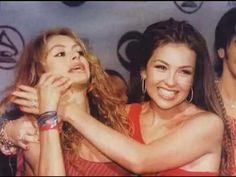 Pelea Entre Thalia y Paulina Rubio (Completa)