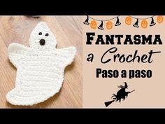 Tutorial Fantasma Amigurumi Halloween en Español - YouTube