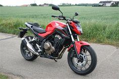 Kurzpräsentation Honda CB500F