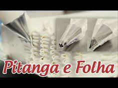 Confeitando o bolo com os BICOS PITANGA e FOLHA (passo a passo) - YouTube