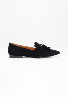 & Other Stories image 1 of Tassel Loafers in Black