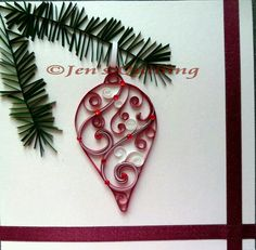 Paper quilling is not a accepted art in Kenya; indeed, best Kenyans accept no abstraction what cardboard quilling is. Paper Quilling Cards, Paper Quilling Patterns, Origami And Quilling, Quilling Paper Craft, Paper Crafts, Quilling Tutorial, Ornament Tutorial, Quilling Christmas, Diy Christmas Ornaments