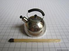 How to make mini tea pot (I appreciate the matchstick for perspective...cute)