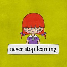 Je hele leven kun je blijven leren, want er zijn altijd nieuwe dingen te ontdekken bij jezelf en anderen. Je kunt veel meer dan je denkt te kunnen.
