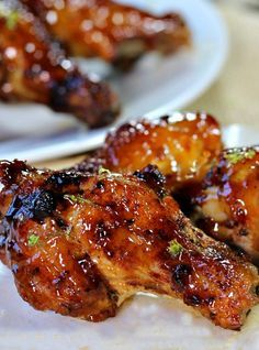 | Posted By: DebbieNet.com | Honey Lime Chicken, Chicken Wings Spicy, Chicken Wing Recipes, Frango Chicken, Smoked Wings, Tandoori Masala, Appetizer Recipes, Appetizers, Food And Drink