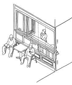 窓のふるまい学 シドニー /通りに面したカフェの窓 | 窓研究所 WINDOW RESEARCH INSTITUTE