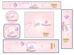 Etiquetas para bautizo imprimir - Imagui