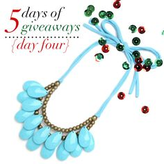 jillgg's good life (for less)   a style blog: 5 days of giveaways: Day 4!