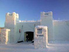 Snow Hotel, Finland