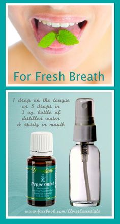 How To Get Rid Of Mouth Odour Naturally