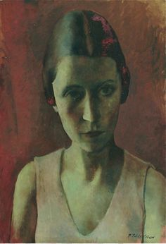 Portrait of Madame Bonjean, 1931 by Pavel Tchelitchew (Russian/American 1898-1957)