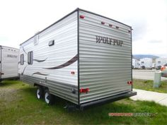 Larger Wolf Pup Travel Trailer