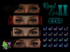 [Real Look II] EyesDOWNLOAD