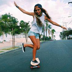 longboard girl @walulife