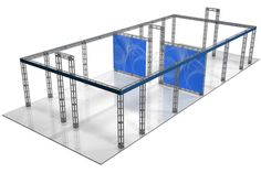 One of the things you can use truss for is to divide up space.  This is a perimeter.