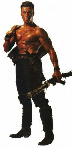 Cyborg - Promo shot of Jean-Claude Van Damme Van Damme, Sci Fi Movies, Action Movies, Post Apocalyptic Fiction, Bionic Woman, Pet Shop Boys, Batman Universe, Ex Machina, Skull Art