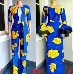 The Most Trendy And Stunning Ankara Styles For The Week Ankara Styles For Women, Ankara Dress Styles, Ankara Tops, African Maxi Dresses, African Attire, African Clothes, African Women, African Fashion, Ankara Fashion