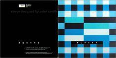 Sleeve designed by Peter Saville: Sleeves 1995-1999