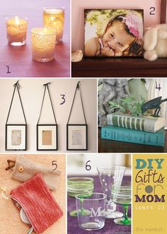 DIY gifts, DIY gifts for mom, mother's day gifts. #4 is a planter made with old books!
