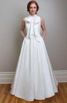 Image of Suzzette vintage inspired wedding dress